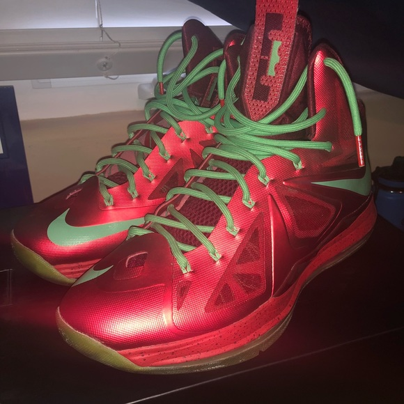 Nike Shoes   Lebron X Christmas   Poshmark